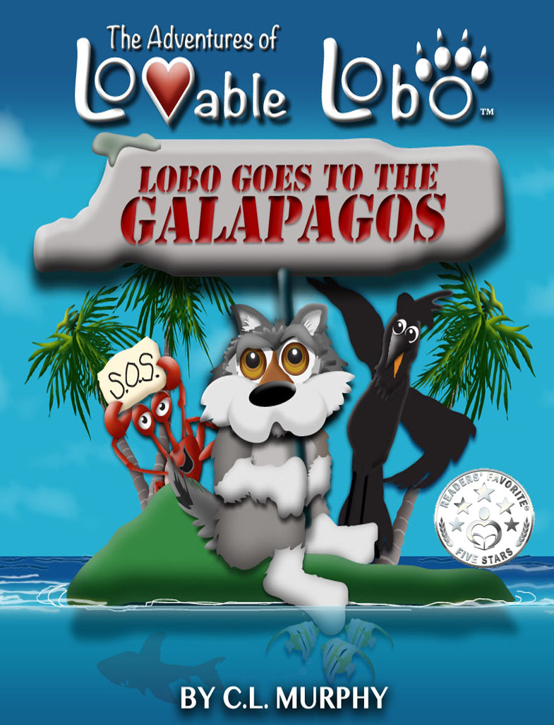 Lovable Lobo childrens book series | Trophy Central Show Us Your Sue award nominee