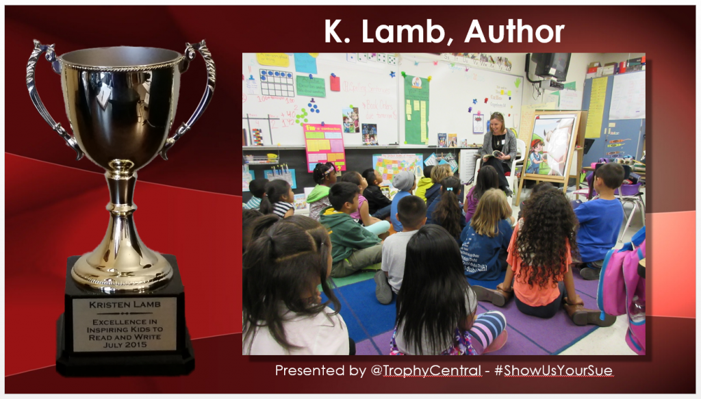 Thank you for your nomination, Kristen Lamb!