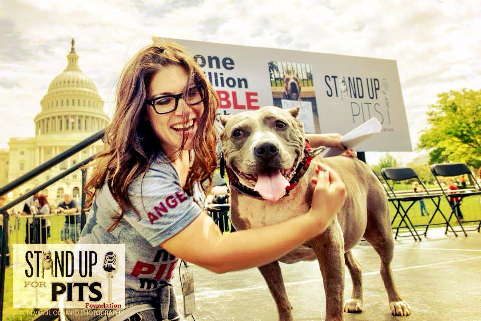 Angel and Rebecca Corry One Million Pibble March on Washington