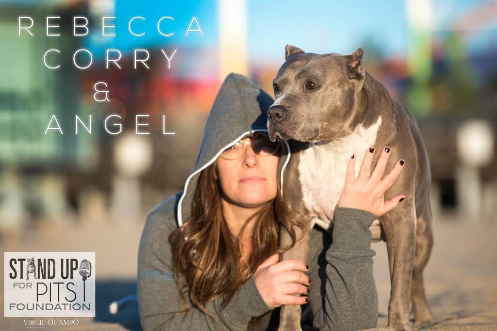 Rebecca Corry and Angel - Stand Up For Pits