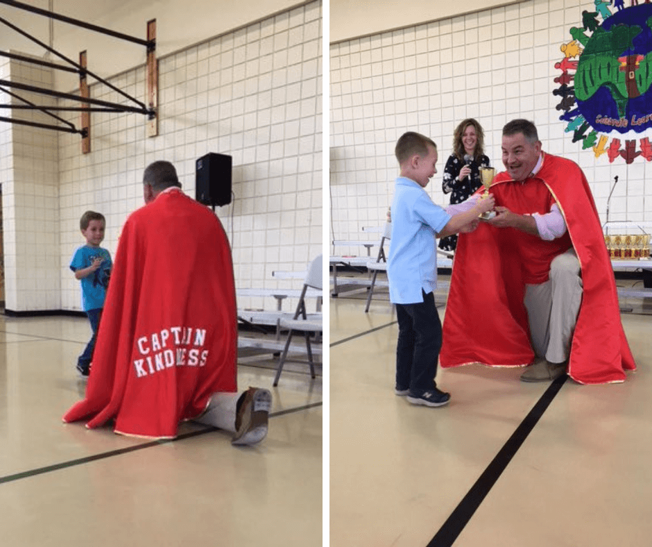 Captain Kindness Trophy Central