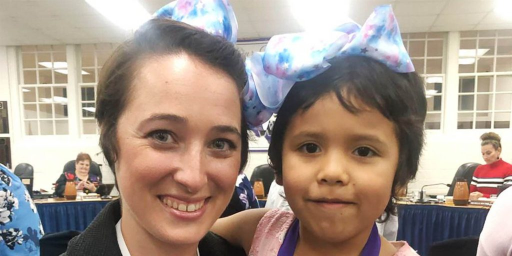 Texas teacher and student share same haircut