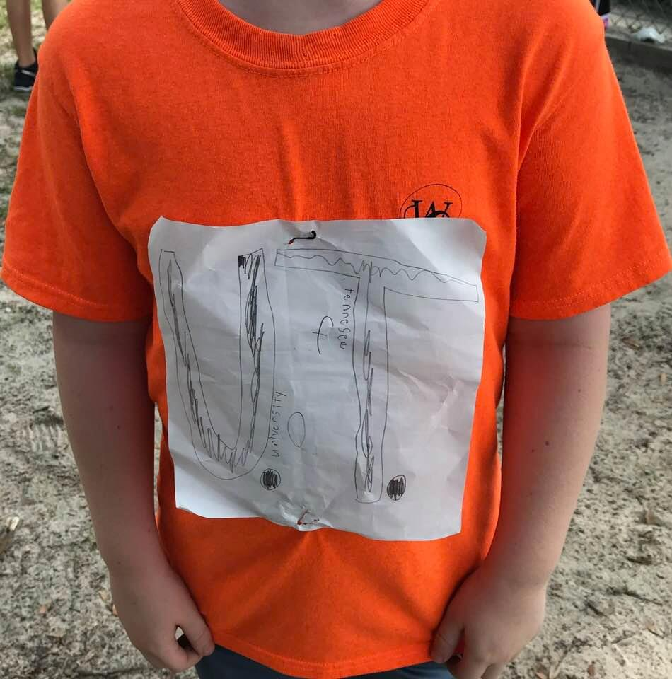 Student's homemade tee shirt sparks anti-bullying movement.